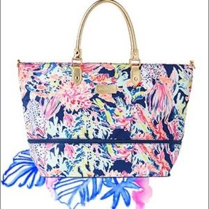 Lilly Pulitzer Weekender Travel Tote
